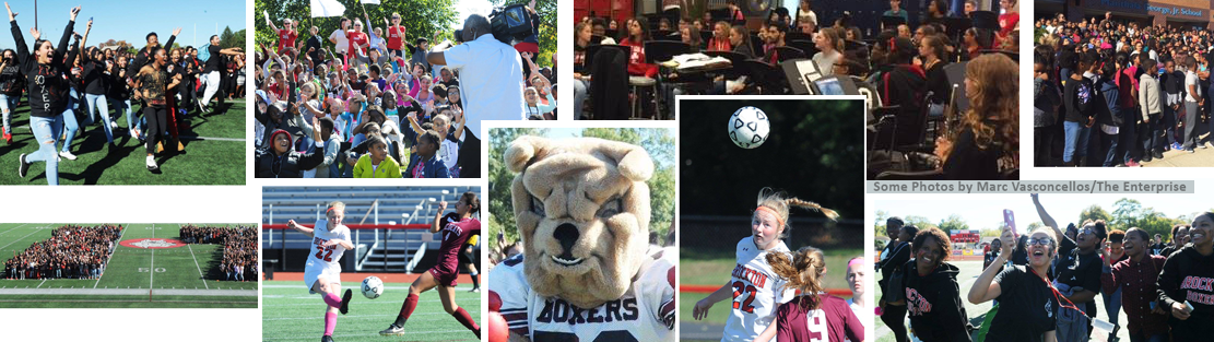 Image: Collage of BPS School Sporting events 2016-2017