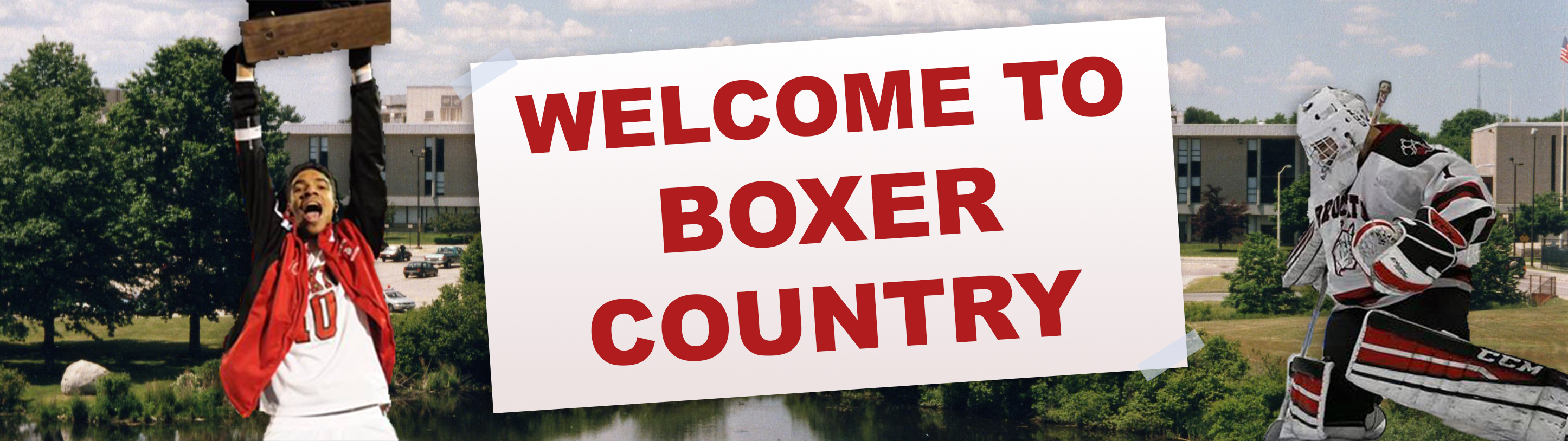 "Image: Brockton Athletics ""Welcome to Boxer Country"""