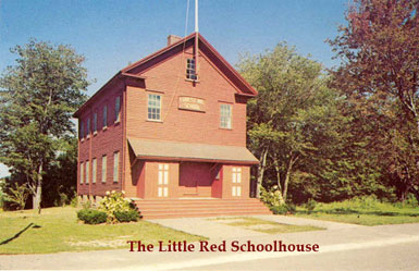 Image: photo Little Red School house