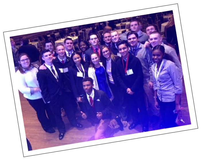 Photo: Deca students at Development Conference