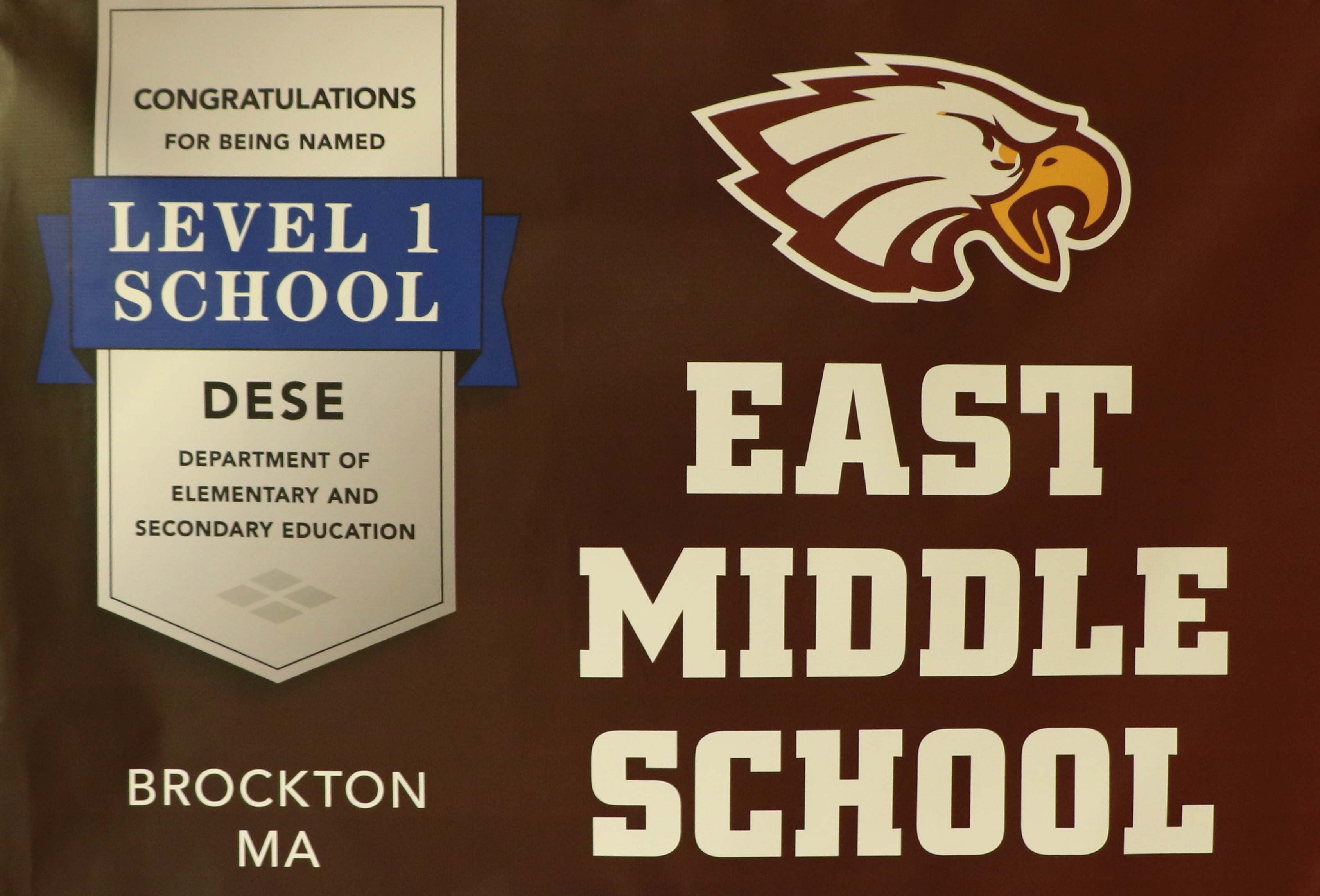 Image: East Middle School Level 1 School